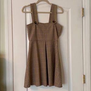 Zara Plaid Sleeveless Dress Size Small